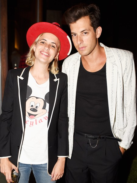 Samantha Ronson and Mark Ronson, Music's Men of Style Party