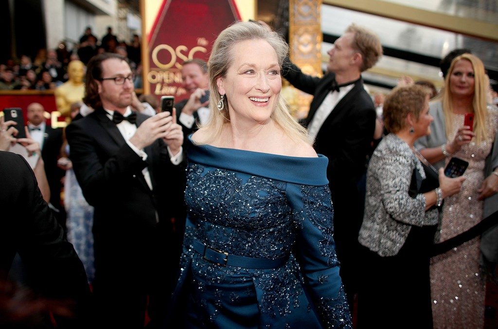 Meryl Streep attends the 89th Annual Academy Awards at Hollywood & Highland Center on Feb. 26, 2017 in Hollywood, Calif.