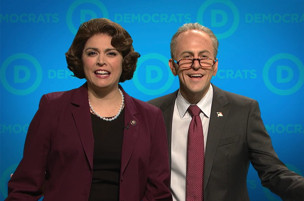 """A Message from the DNC"" SNL sketch."