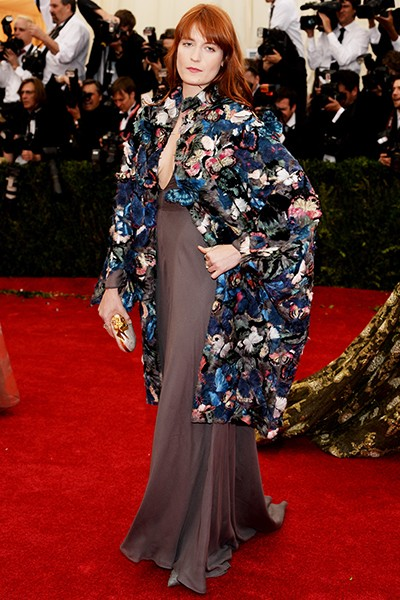 Florence Welch at the 2014 Costume Institute Gala