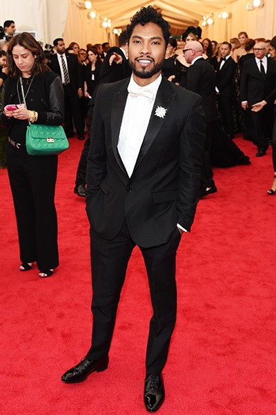 Miguel at the 2014 Costume Institute Gala