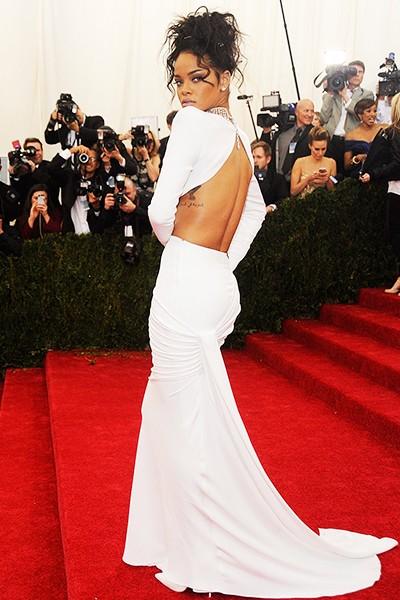 Rihanna at the 2014 Costume Institute Gala