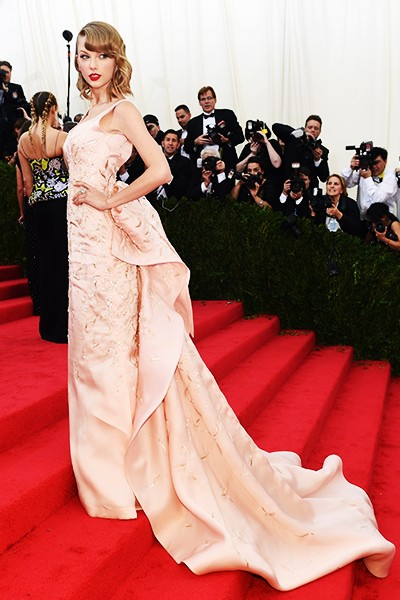 Taylor Swift at the 2014 Costume Institute Gala