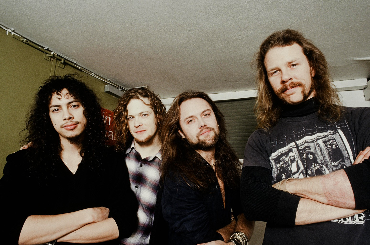 Metallica photographed in 1992