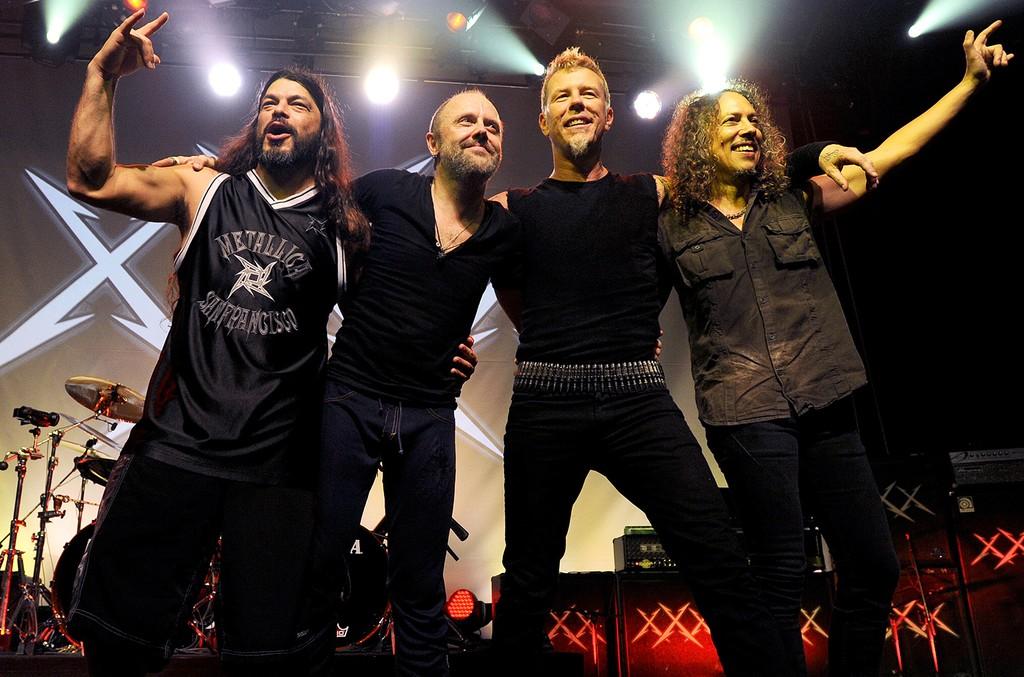 Metallica in 2011