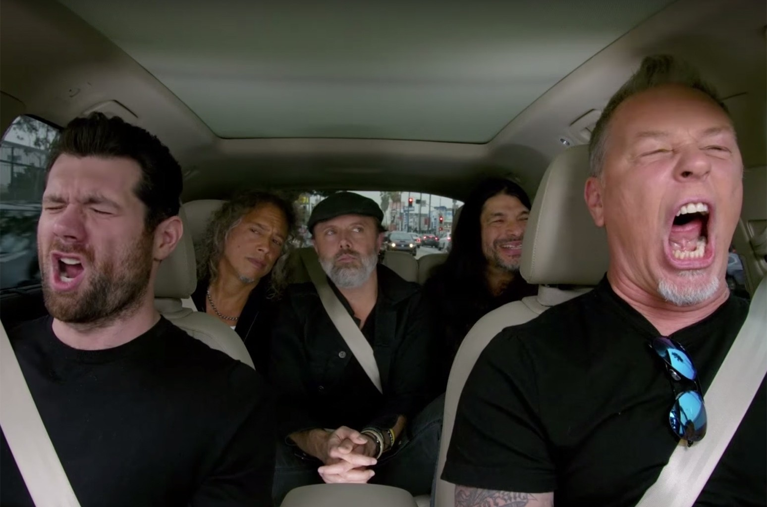 Metallica on Apple Music's Carpool Karaoke