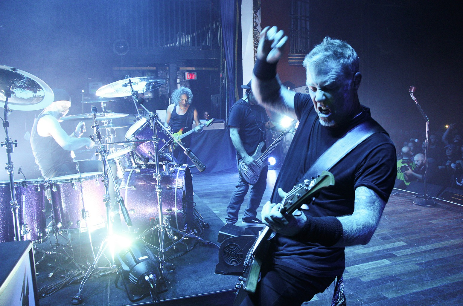 Metallica perform at The Opera House