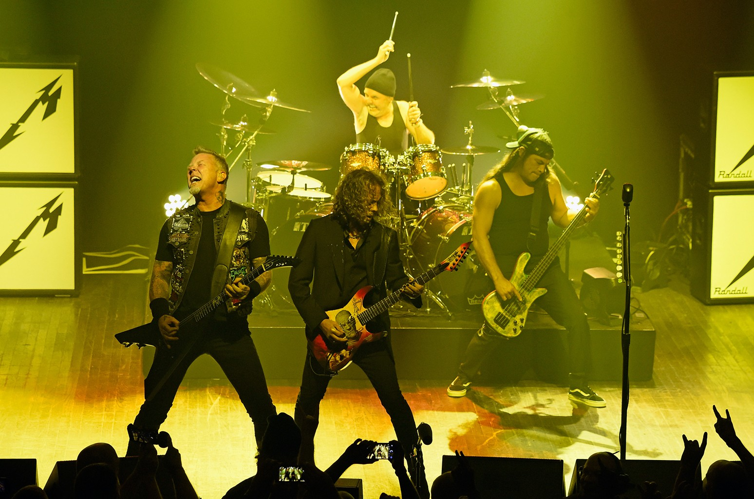 Metallica perform at Webster Hall