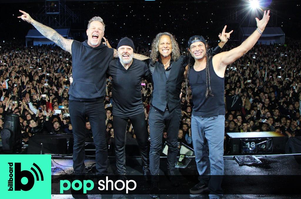 Metallica perform in 2016