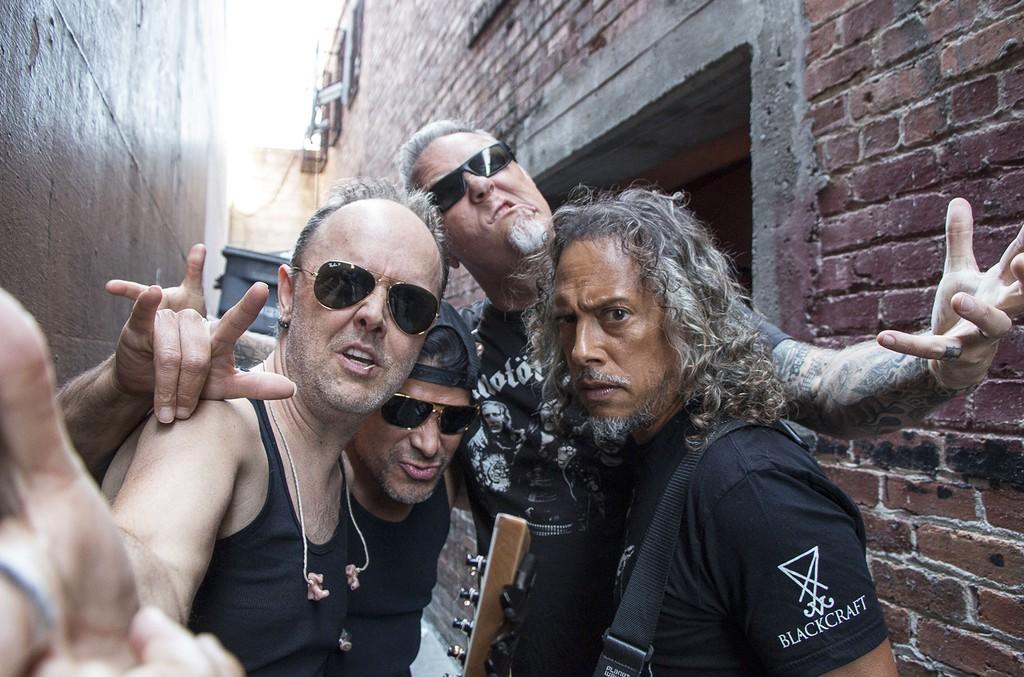 Metallica in 2016