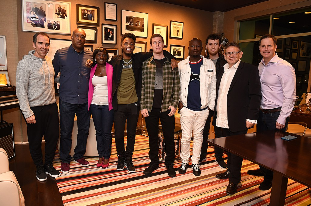 Monte Lipman- Founder & CEO of Republic Records, Naim McNair – SVP Urban A&R, Republic Records, Uwonda Carter – The Carter Law Firm, Metro Boomin - Producer, Dan Friedman – Management, Rico Brooks - Management, Tyler Arnold - Manager, A&R, Republic Recor