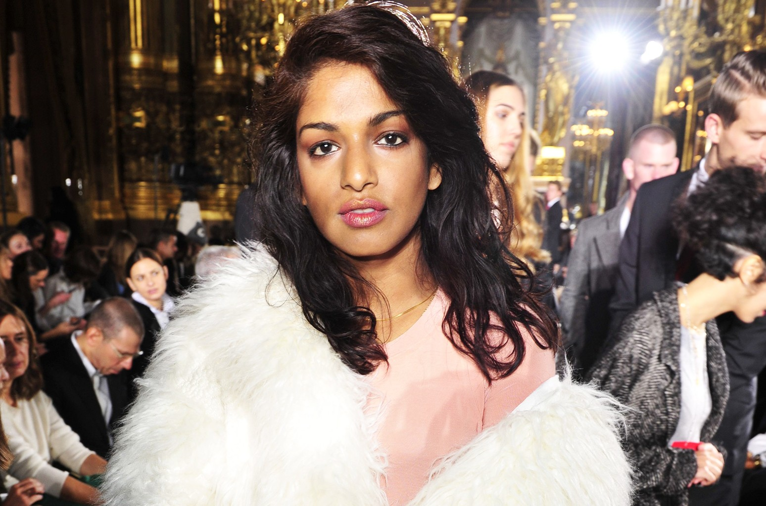 M.I.A photographed in Paris