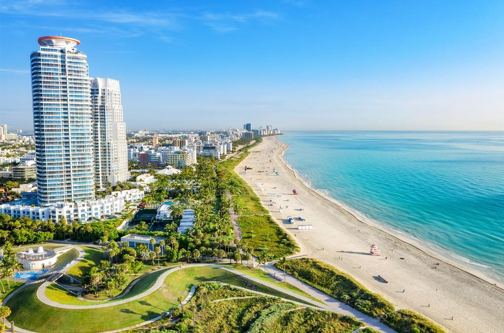 South Beach at Miami South Pointe Park