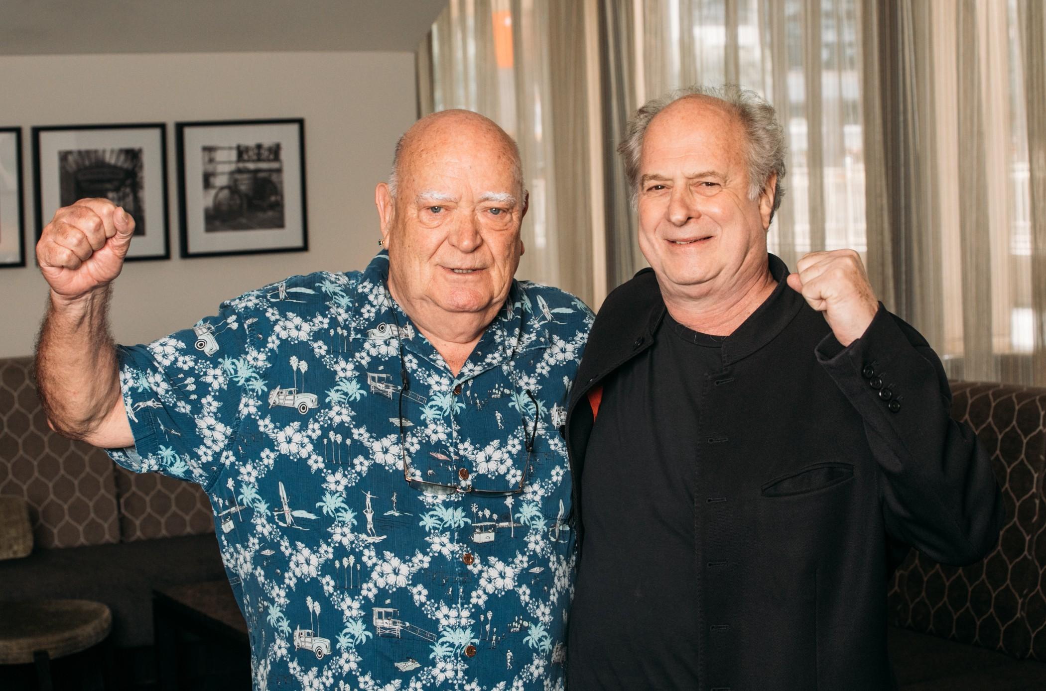 Michael Chugg and Michael Gudinski