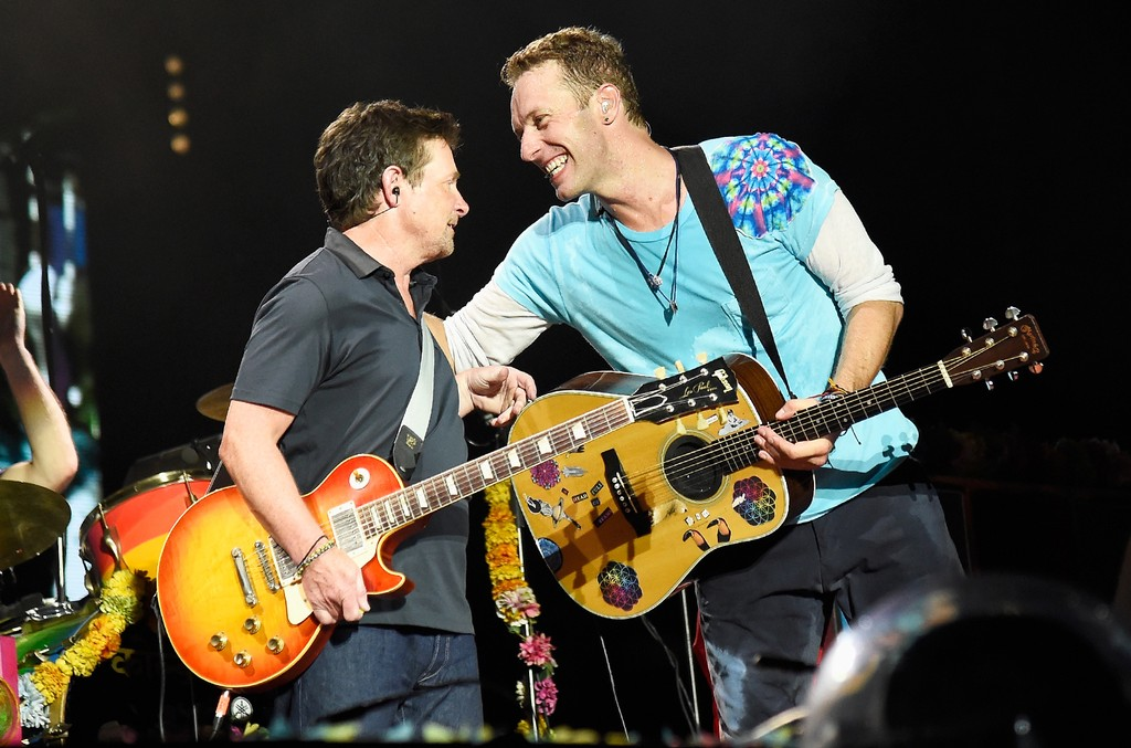 Michael J. Fox and Coldplay