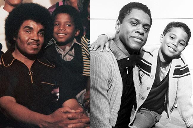 Michael Jackson and Alex Burrall as Michael Jackson