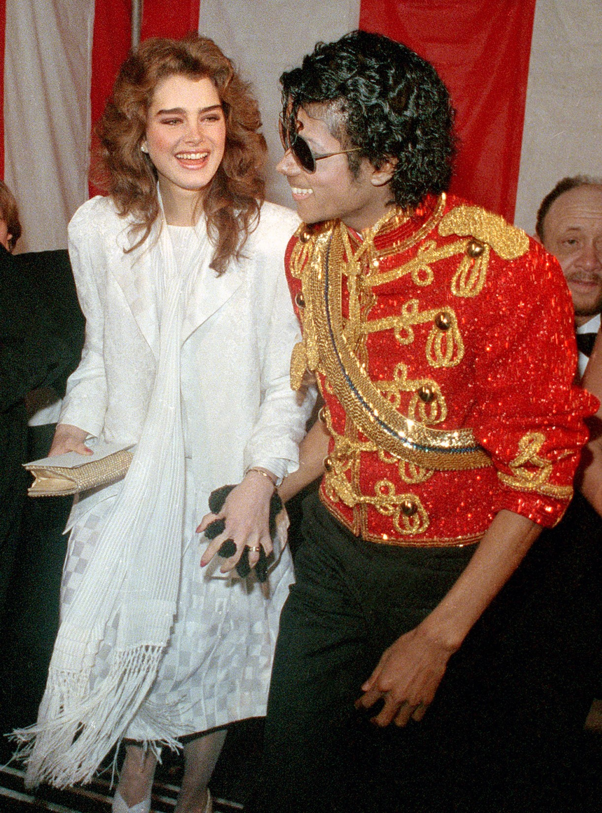 Brooke Shields & Michael Jackson, 1984