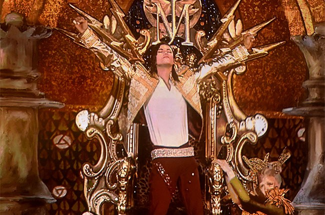 A hologram of Michael Jackson at the 2014 Billboard Music Awards