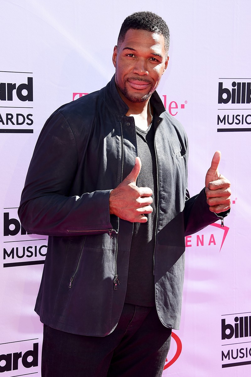 Michael Strahan at the 2016 Billboard Music Awards