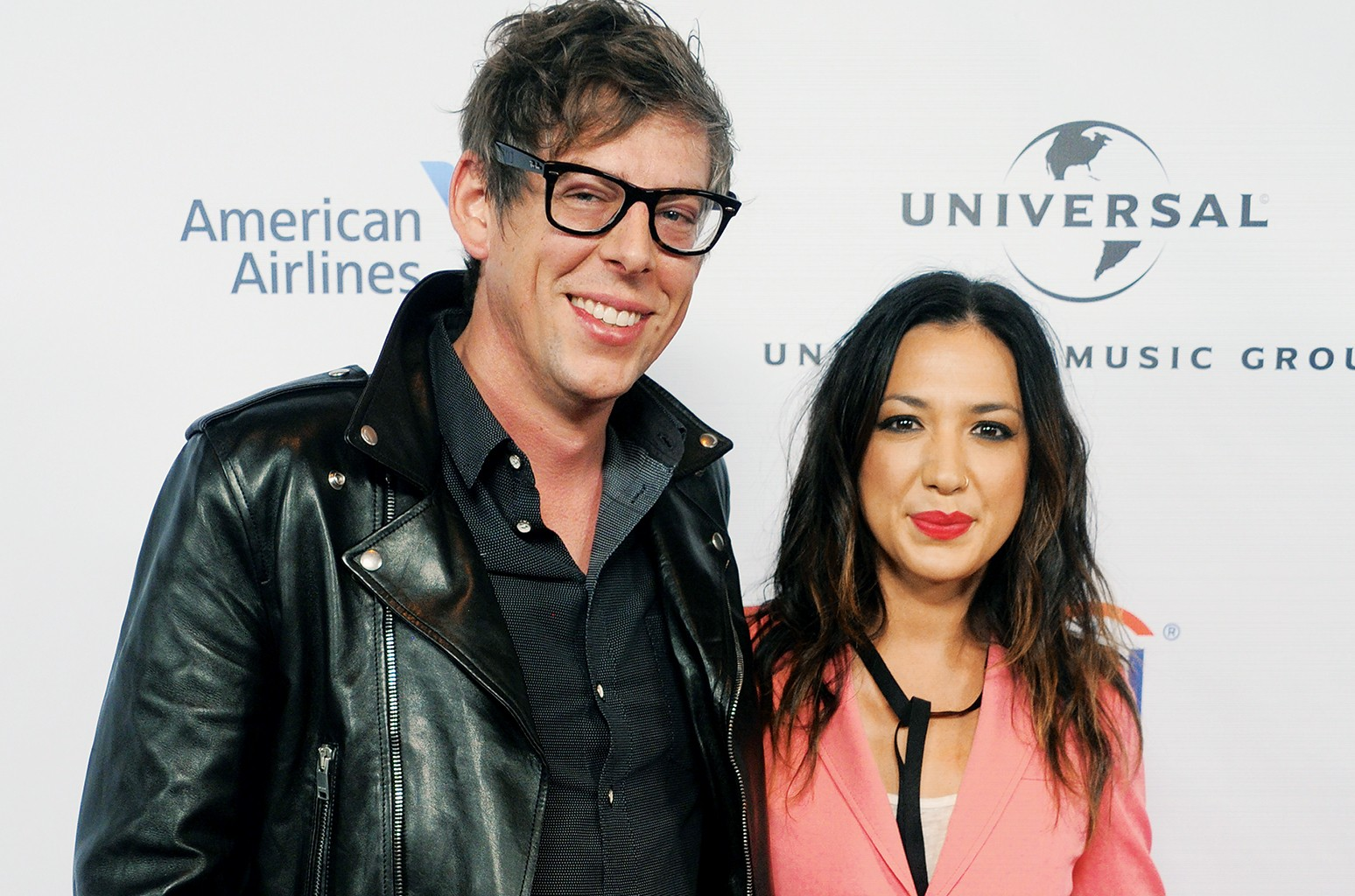 Michelle Branch and Patrick Carney of The Black Keys arrive at Universal Music Group's 2016 Grammy After Party at The Theatre At The Ace Hotel on Feb. 15, 2016 in Los Angeles, Calif.