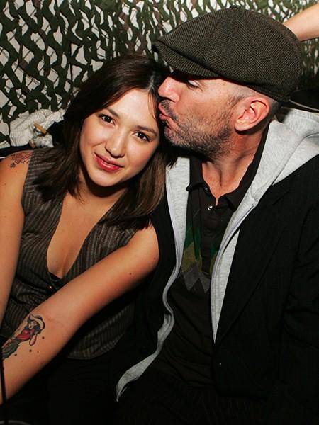 Michelle Branch and Teddy Landau 2006
