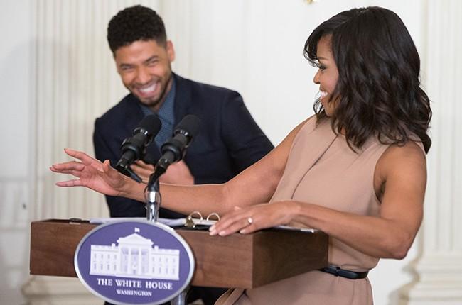 Michelle Obama Jussie Smollett