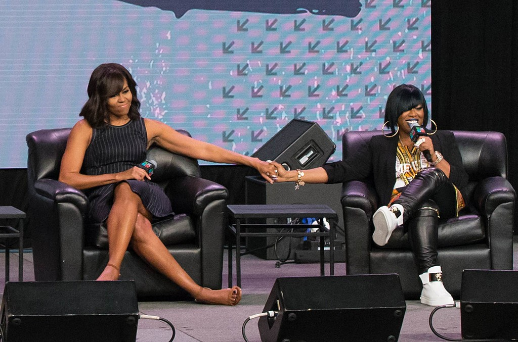Michelle Obama & Missy Elliot