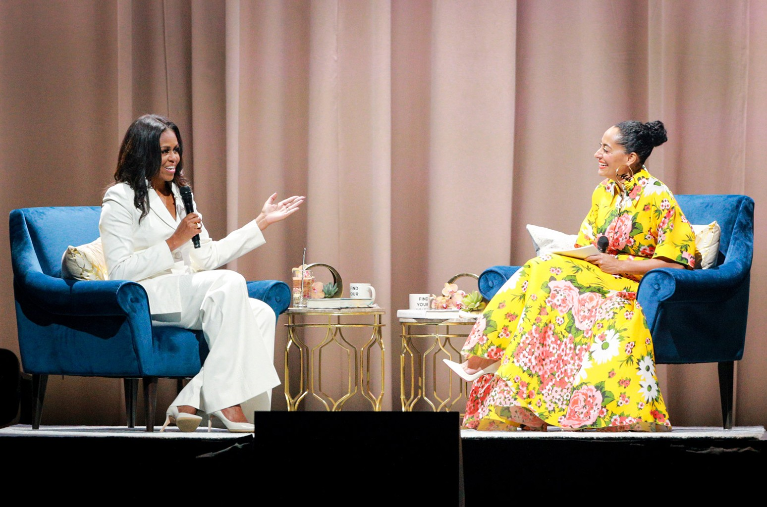 Michelle Obama & Tracee Ellis Ross