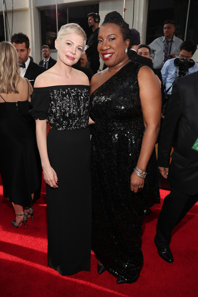 Michelle Williams & Tarana Burke, 2018