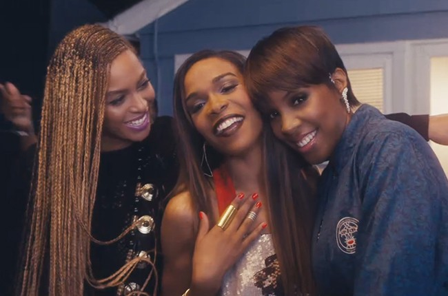 """Michelle William's """"Say Yes"""" Video featuring Beyonce and Kelly Rowland"""