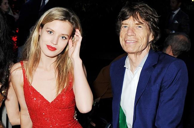 Georgia May Jagger and Mick Jagger