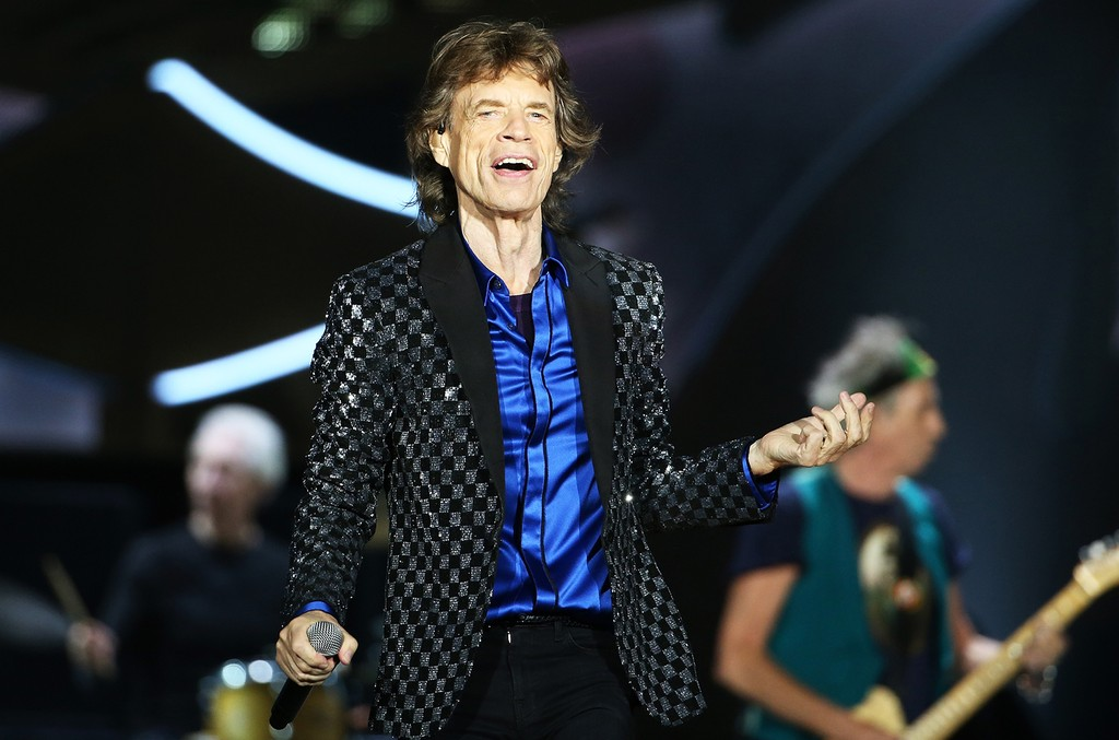 Mick Jagger performs on Nov. 22, 2014 in Auckland, New Zealand.