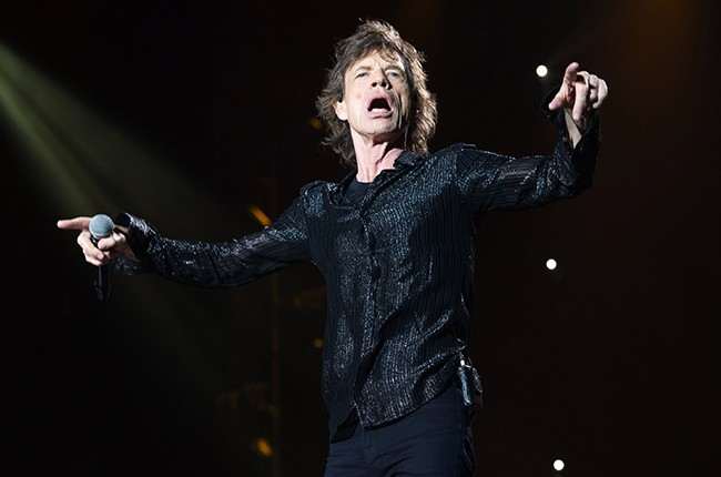 Mick Jagger of The Rolling Stones 2016