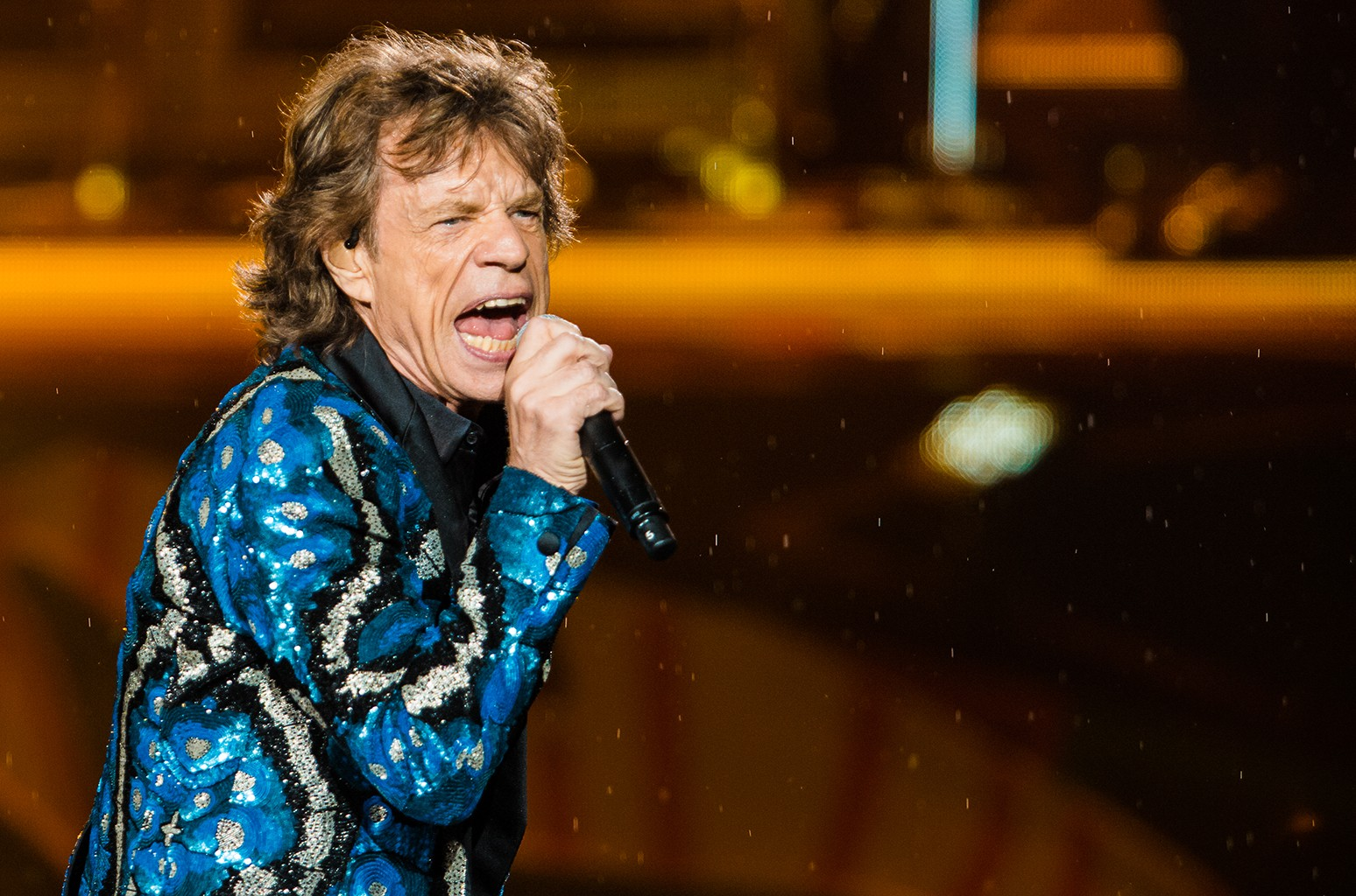 The Rolling Stones perform in Brazil