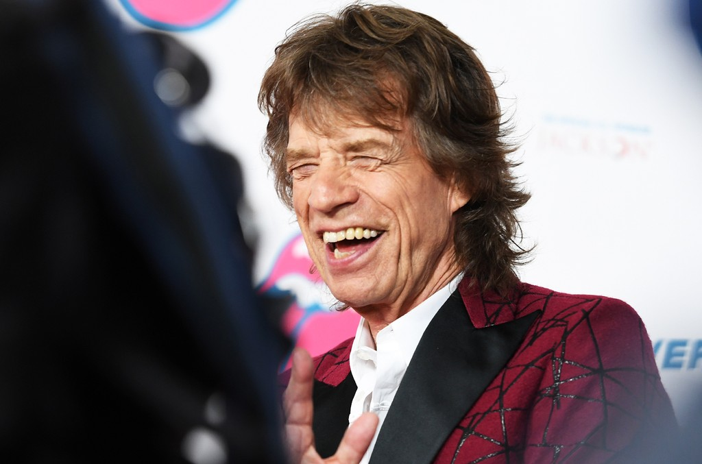 Mick Jagger in 2016
