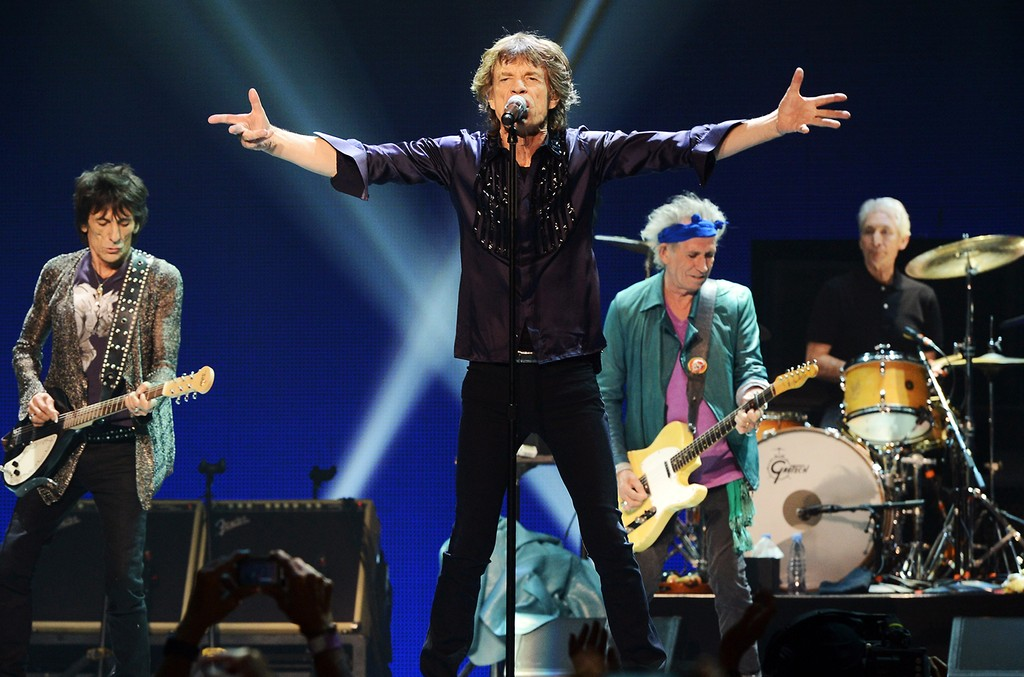 The Rolling Stones, 2013