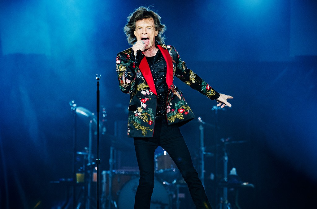 Mick Jagger from The Rolling Stones, 2017