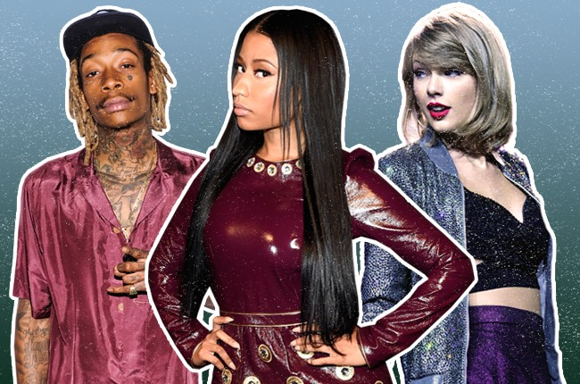 Mid-Year Readers Poll: Wiz Khalifa, Nicki Minaj, Taylor Swift