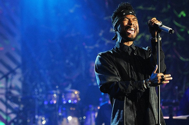 Miguel performs onstage at the Songwriters Hall of Fame