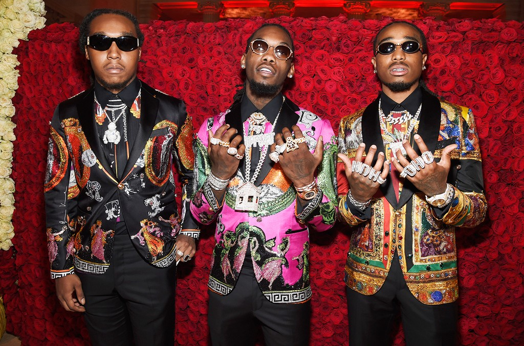 Takeoff, Offset and Quavo of Migos