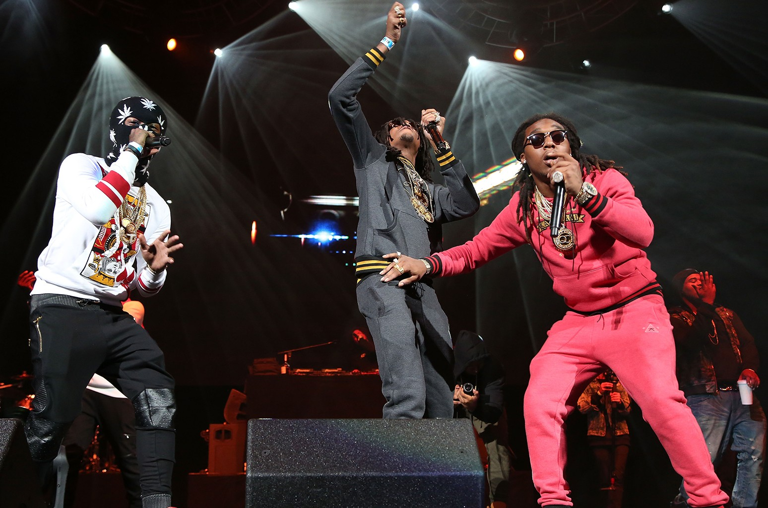 Migos perform at Barclay's