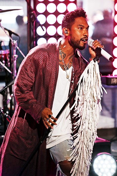 """Miguel performs live on """"Good Morning America,"""" 6/30/15"""