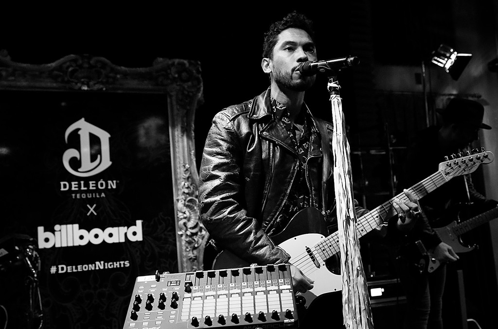 Miguel performs at DeLeón 100 & Billboard Event at Sayers Club on Dec. 16, 2016 in Hollywood, Calif.