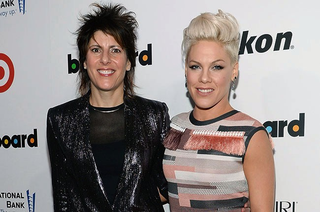 EVP of publicity for RCA records Mika El-Baz and Pink