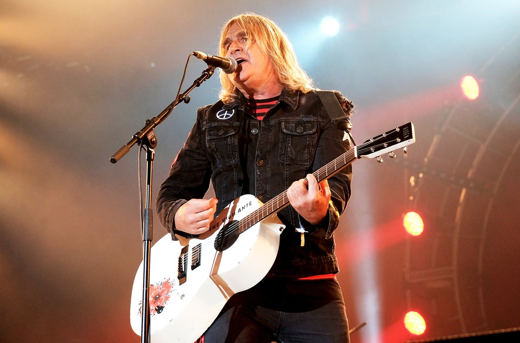 Mike Peters of The Alarm