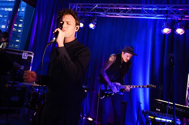 Mikky Ekko performs in New York City