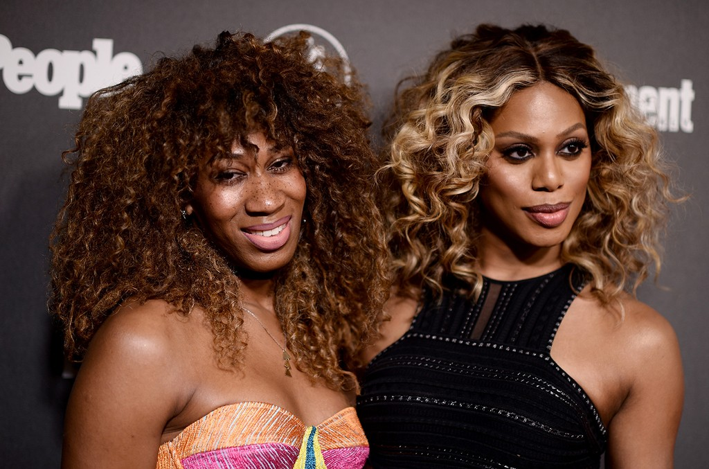 Mila Jam and Laverne Cox