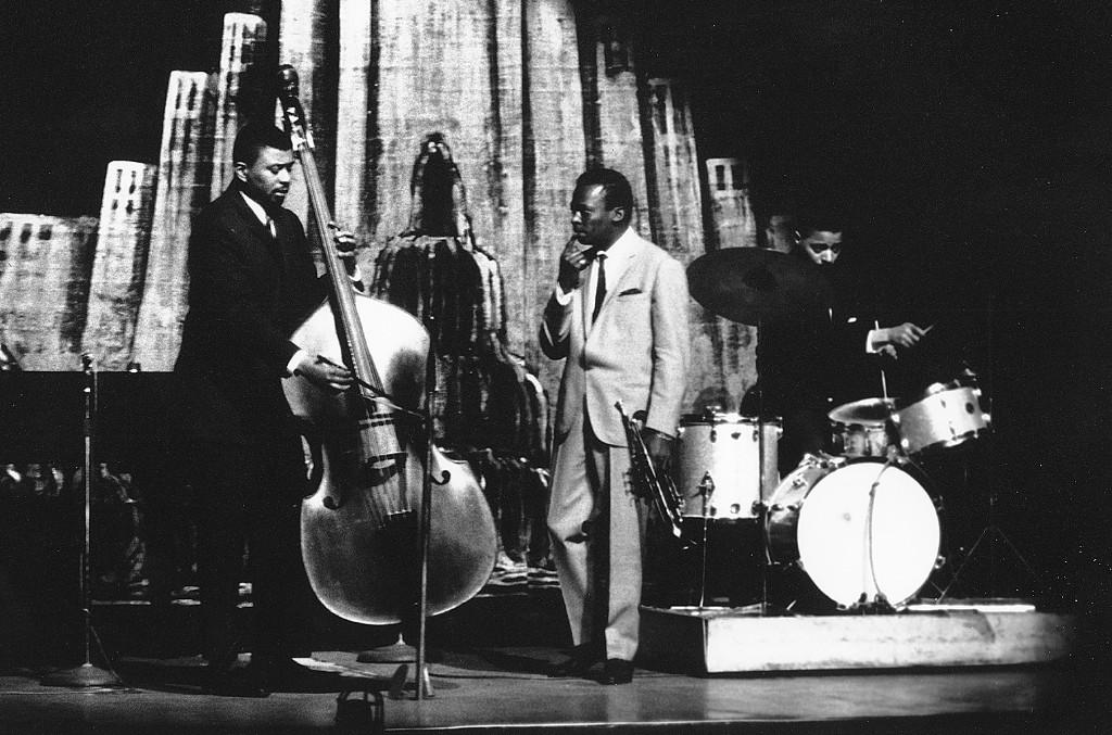 Miles Davis, Paul Chambers and Jimmy Cobb