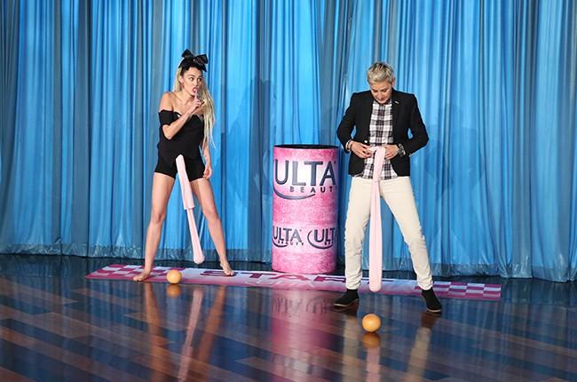"Miley Cyrus on ""The Ellen DeGeneres Show"""