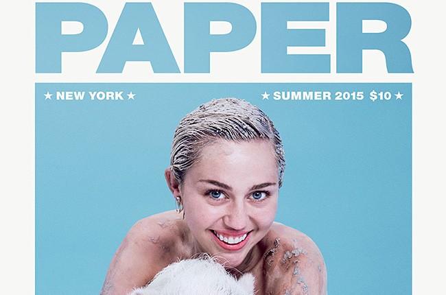 Miley Cyrus Paper Mag